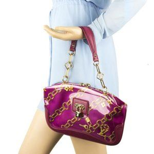 💎✨EXTREMELY RARE✨💎 LV Fuchsia Patent Leather